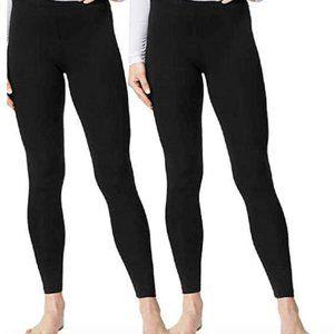 NEW 32 DEGREES Ladies' Base Layer Heat Pant 2pk